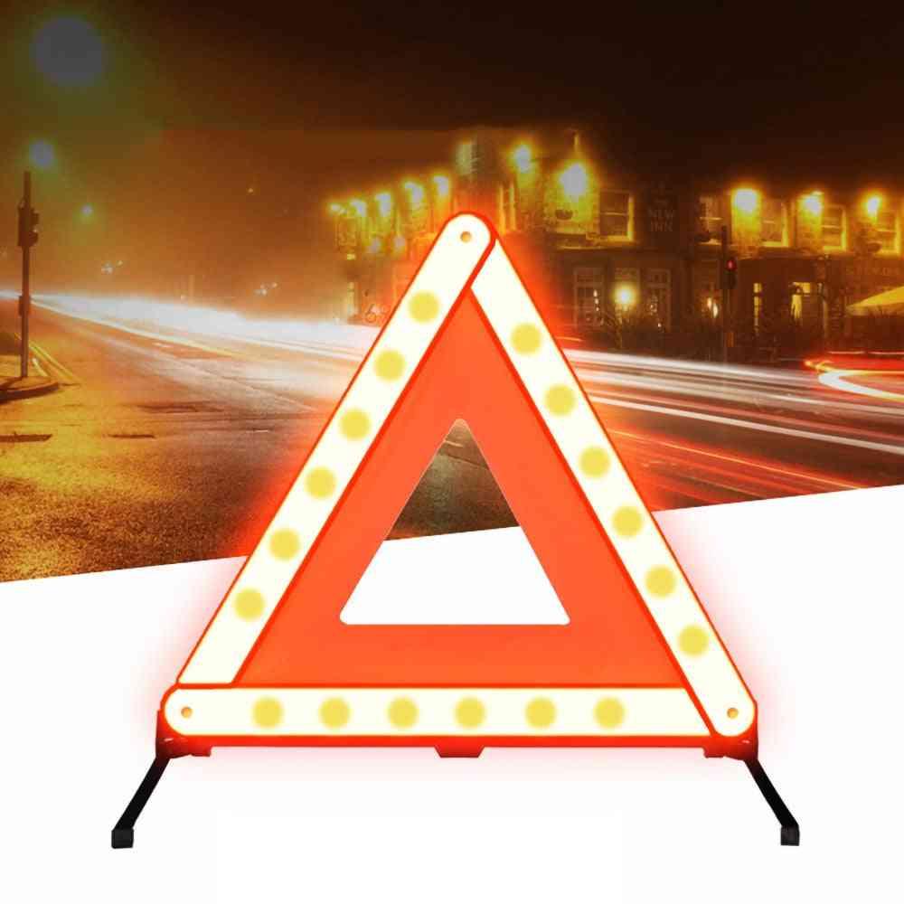 Reflective Strip Car Stop Emergency Warning Sign