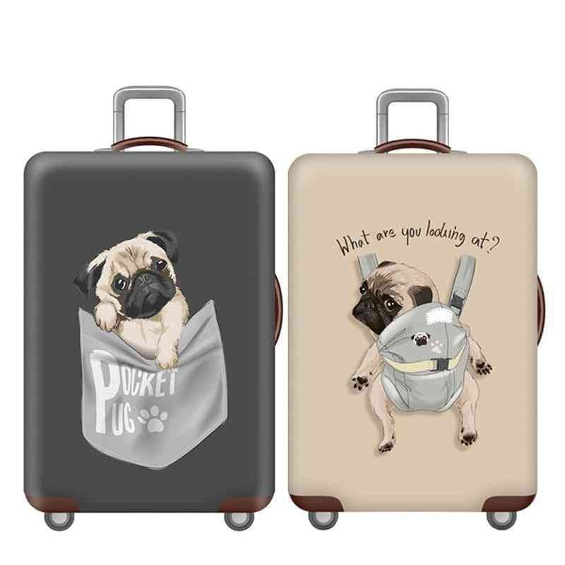 Elasticity Animal Pattern Luggage Protection Covers