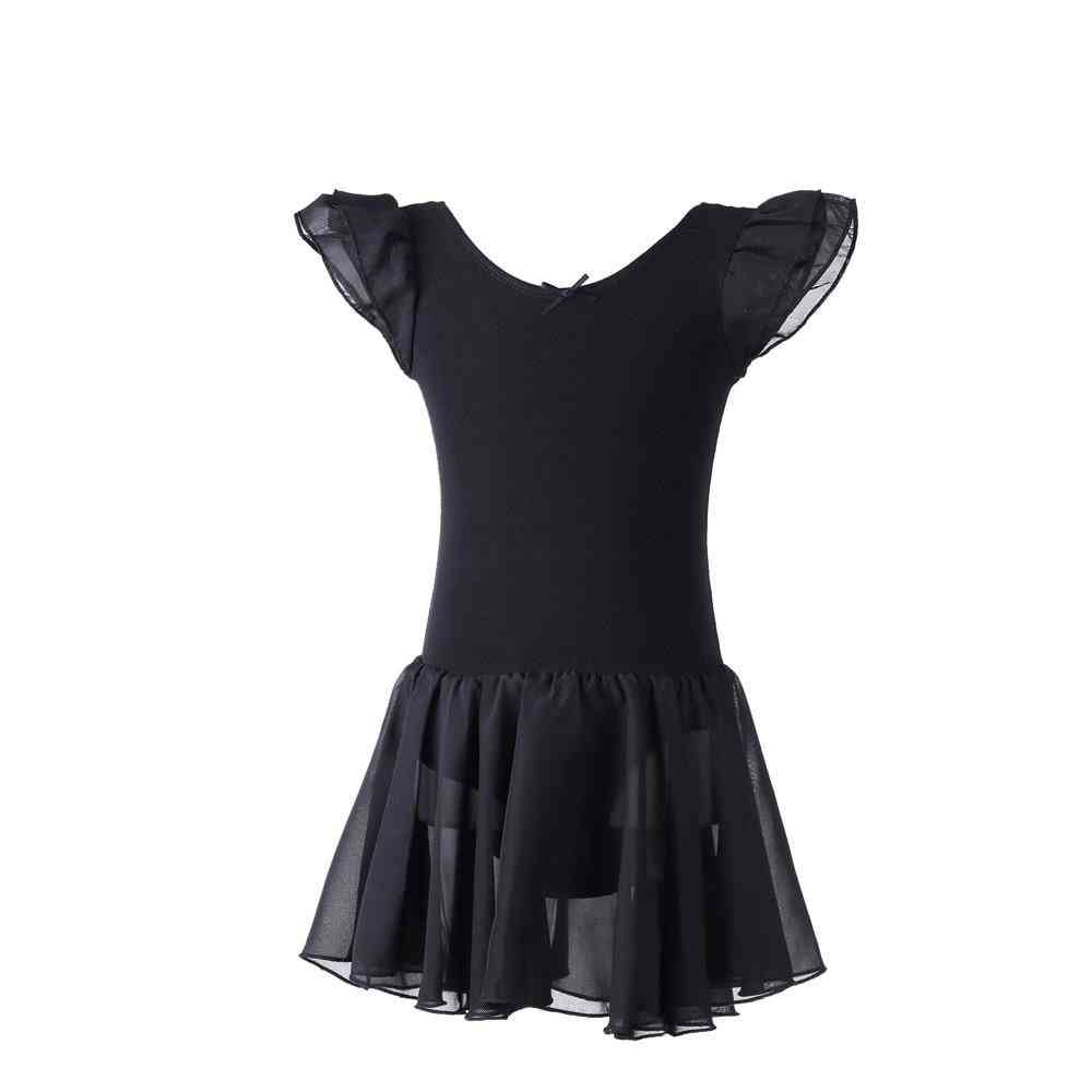 Dance Wear Black Ballet Dress Kids Tutu Dress