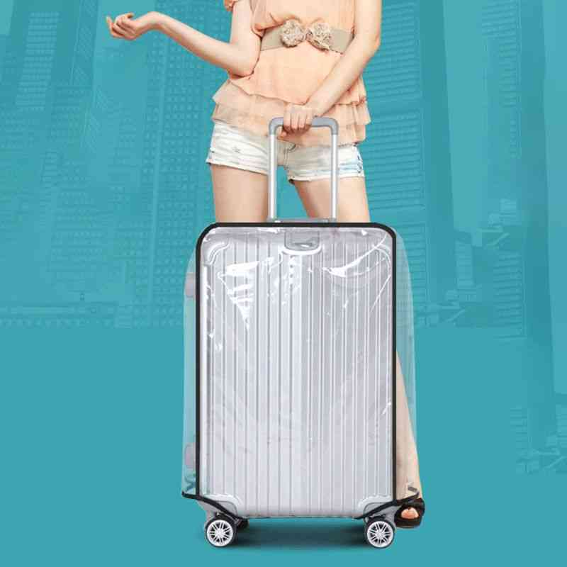 Full Transparent Luggage Protector Cover