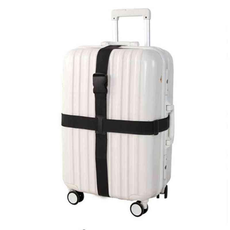 Adjustable Suitcase Cross Straps Trolley Luggage Nylon Belt
