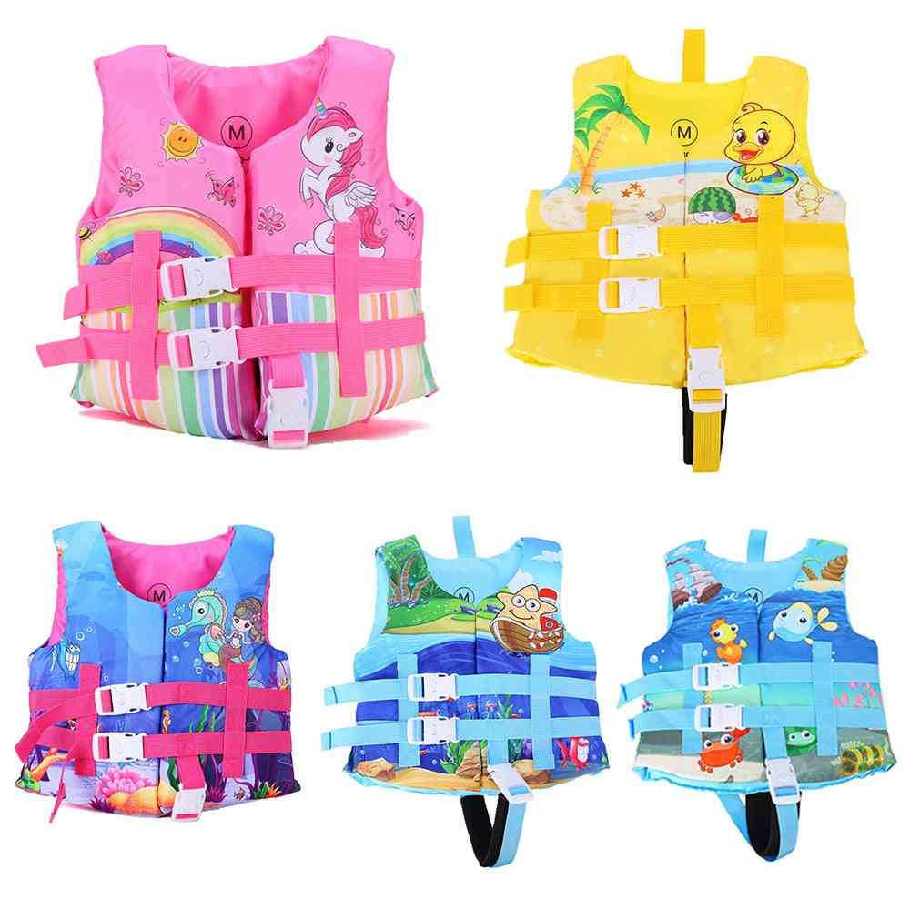 Puddle Jumper Kids Life Vest Floating Jacket Boy Swimsuit Sunscreen Floating Power Swimming Pool Accessories For Drifting