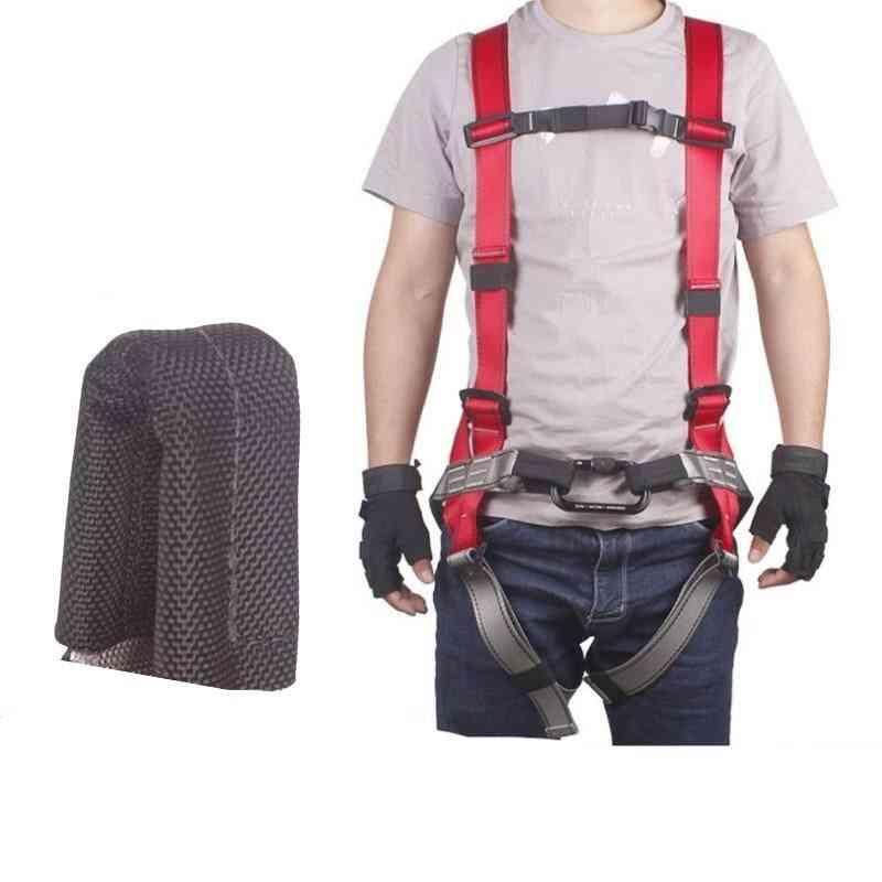 Adjustable Body Waist Harness Climbing Belt Fall Protection Full Body Rock Climbing Harness Body Seat Belt