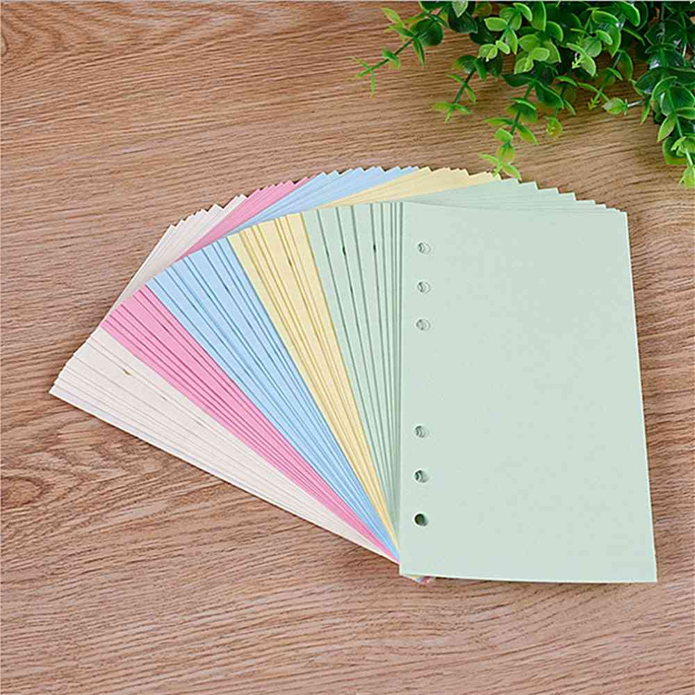 Colorful A5/a6 Loose Leaf Notebook