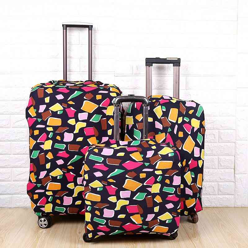 Fashion Travel On Road Luggage Suitcase Protective Cover