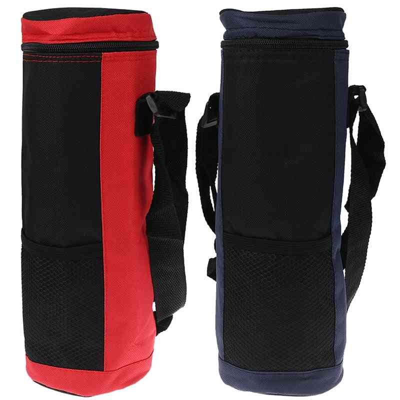 Water Bottle Cooler Tote Bag, High Capacity Insulated Cooler Bag