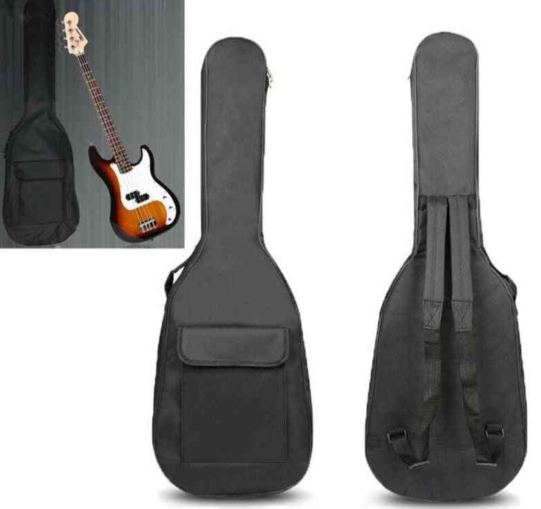Double Straps Padded Waterproof Electric Bass Guitar Bag