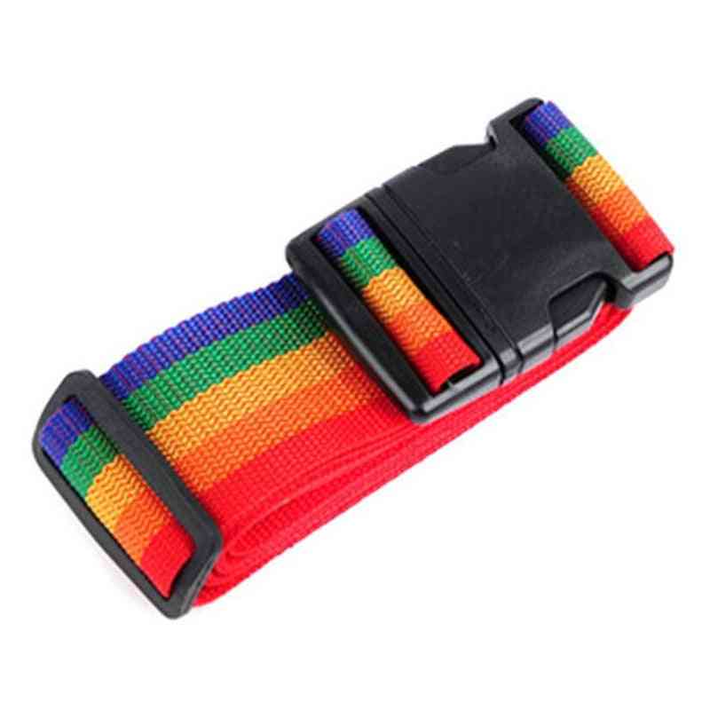 Adjustable Luggage Strap Cross Belt
