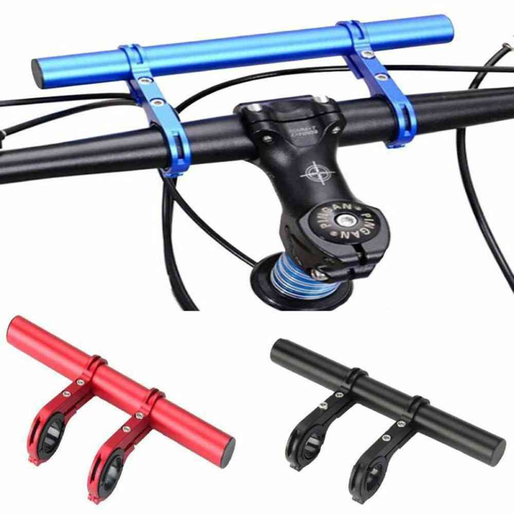 Bicycle Handlebar Flashlight Holder Handle Bar Bicycle Accessories Extender Mount Bracket Moutain Bikes Scooter