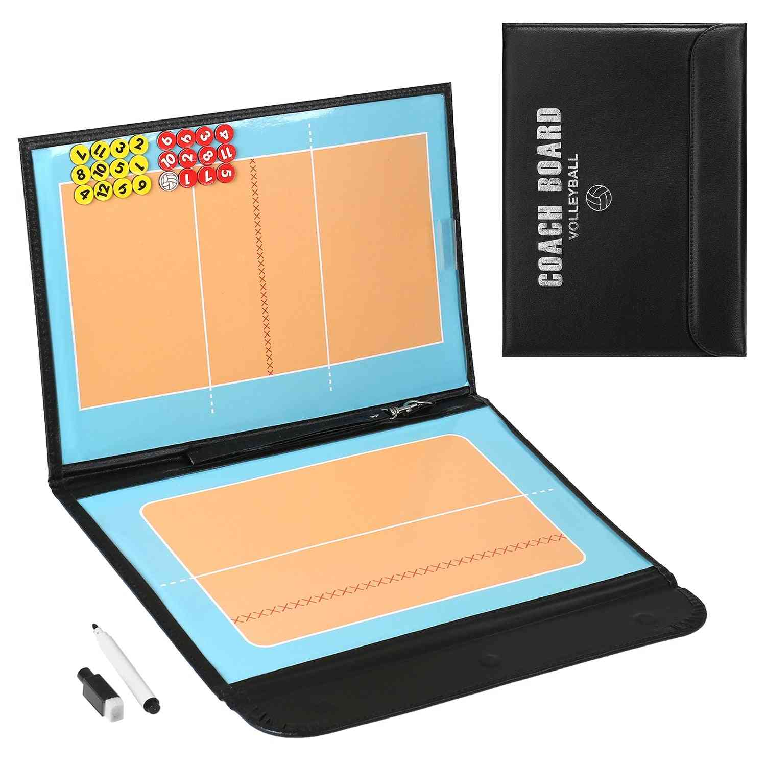 Foldable Volleyball Tactical Board