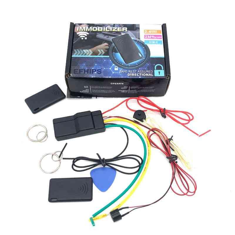Universal Auto Car Alarm Car Engine Lock Unlock Car Engine Dark Lock Alarm