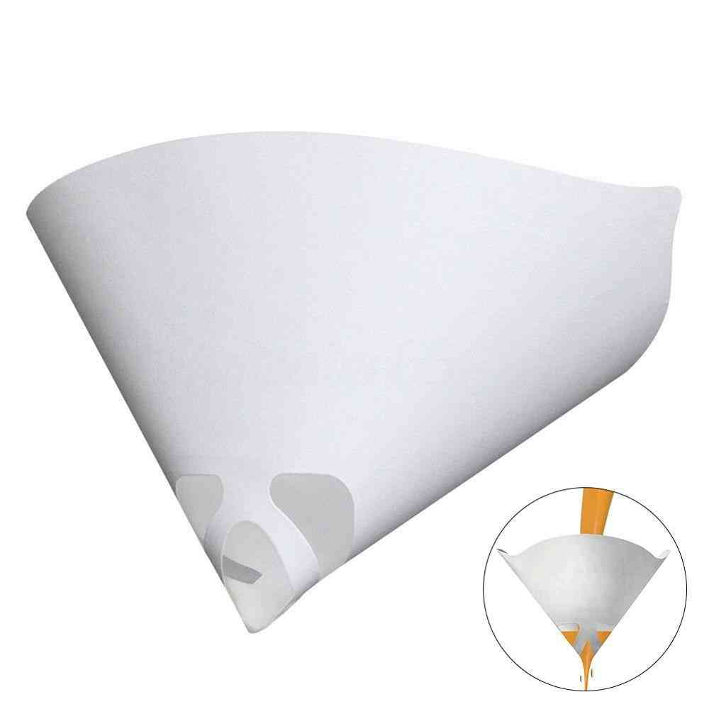 Conical Nylon Micron Paper Paint Strainer Filter