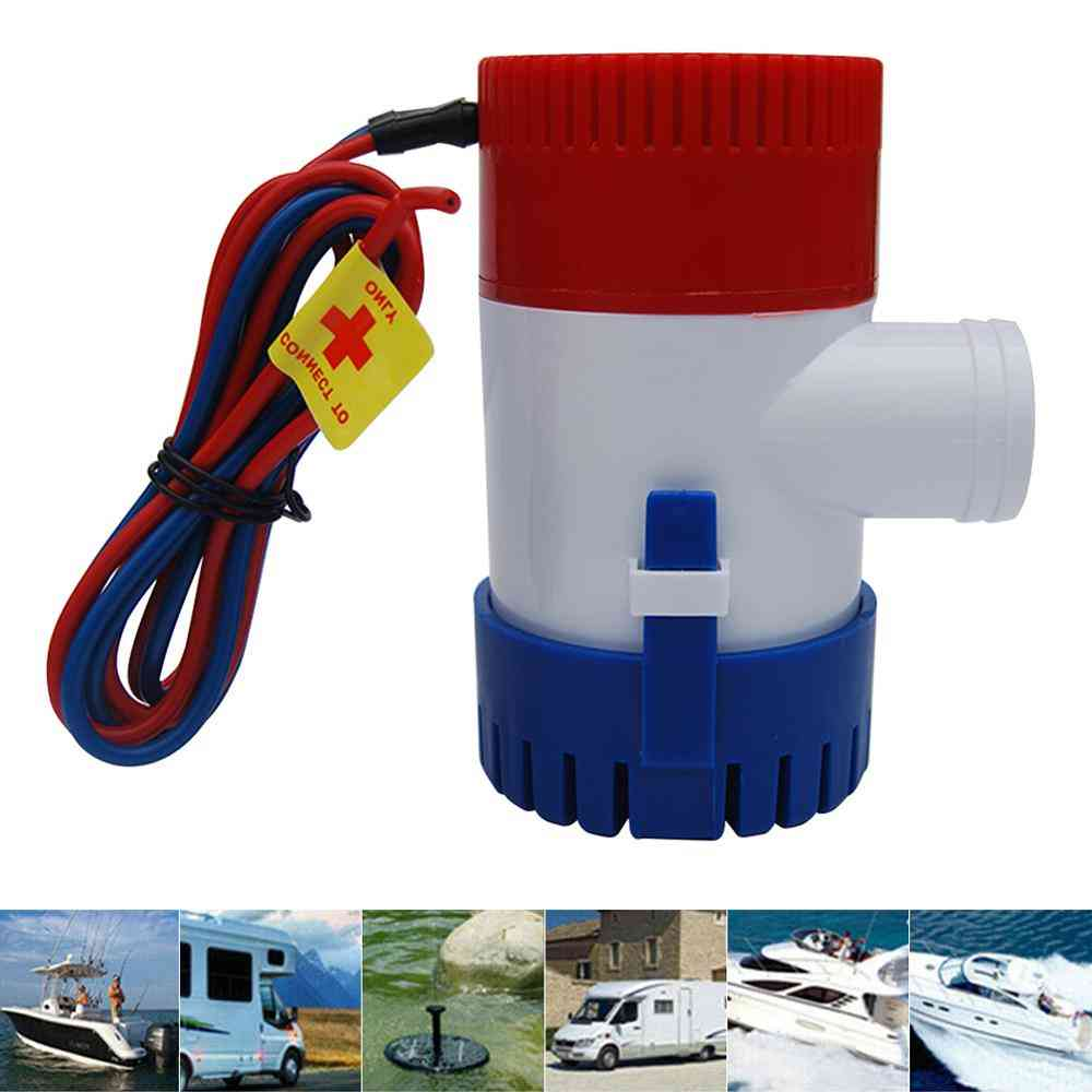 Bilge Pump 1100 Gph Dc 12v Electric Water Pump For Aquarium Submersible Seaplane Motor Homes Houseboat Boats