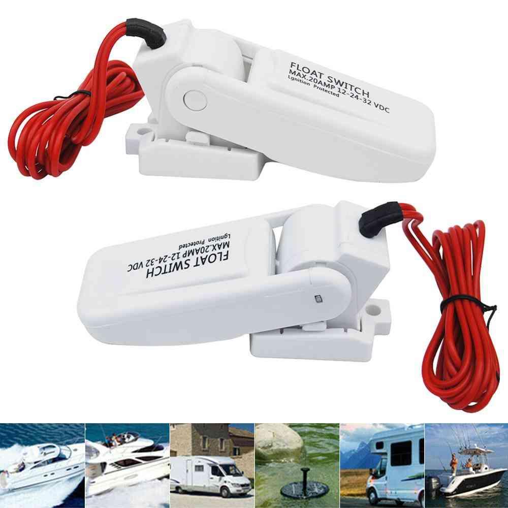 Automatic Electric Boat Marine Bilge Pump Float Switch Water Level Controller Dc Flow Sensor Switch