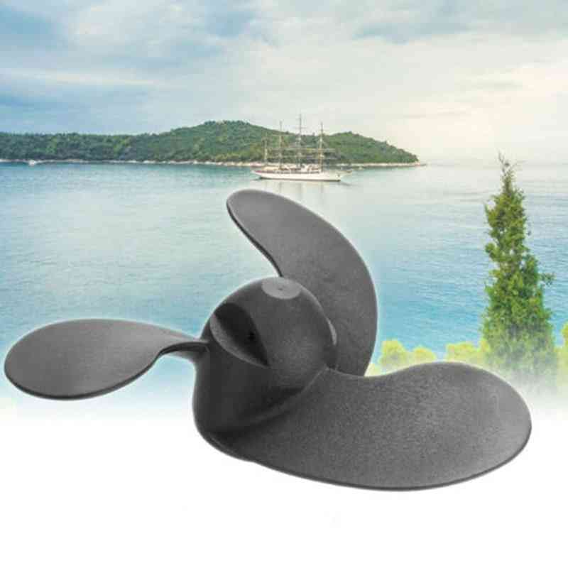 3 Black Leaves Marine Outboard Propeller For Mercury/nissan/tohatsu 3.5/2.5hp 47.05mm(diameter)*78.05mm(pitch)