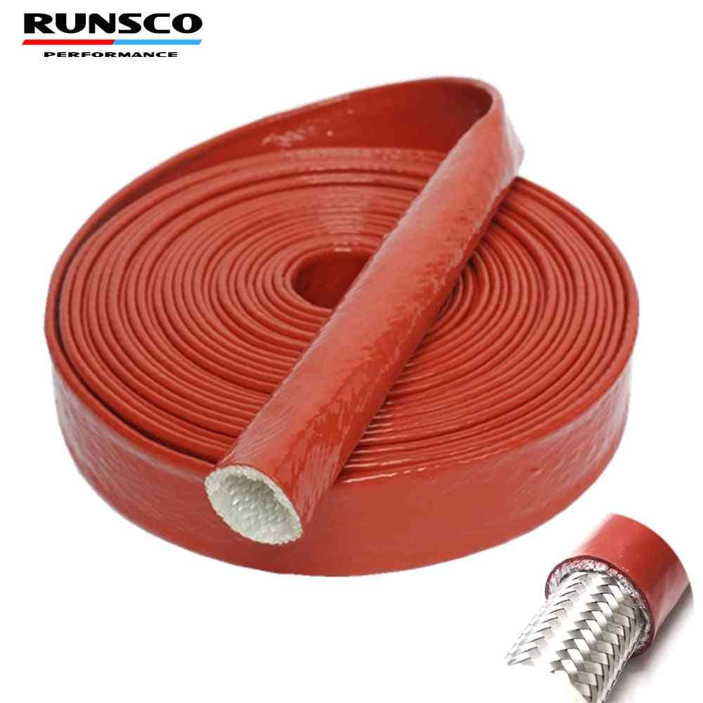 Id 4 6 8 10 12 15 20 25mm Red High Temperature Resistant Fire Retardant Casing Pipe