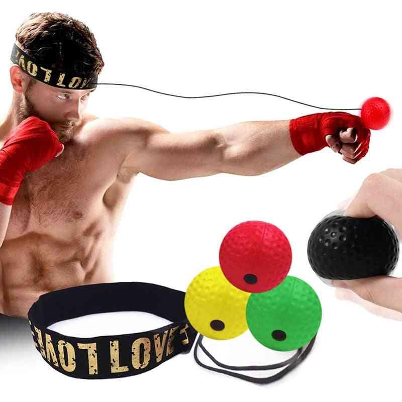 Boxing Reflex Ball Head Band