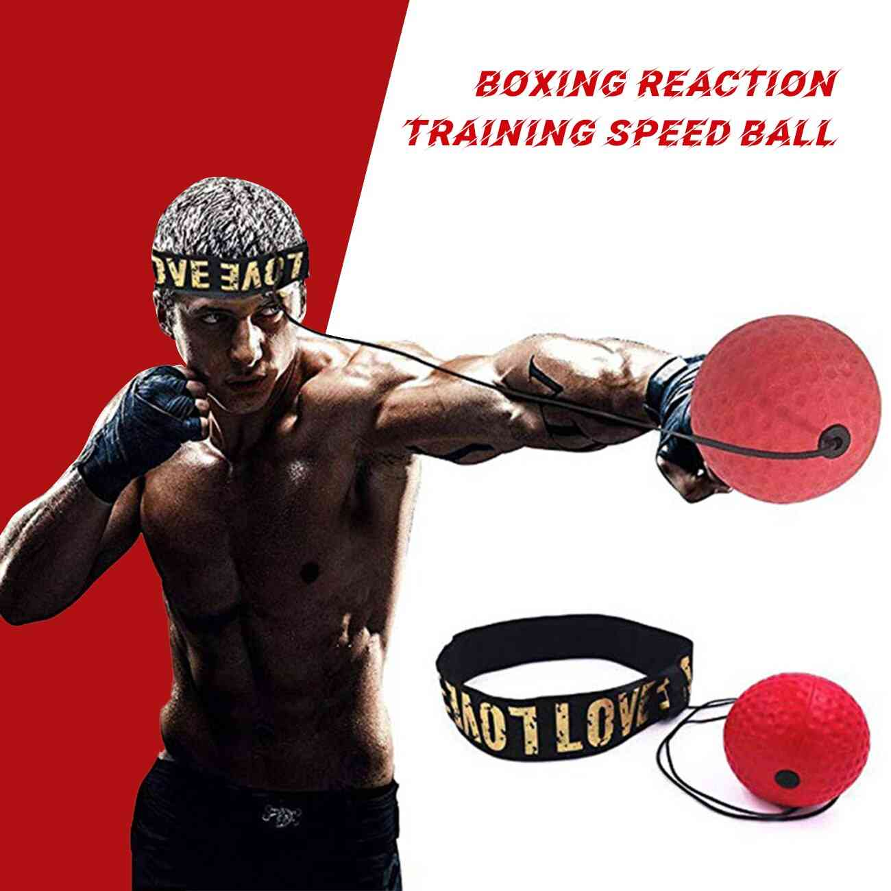 Boxing Punch Exercise Fight Ball Head Band