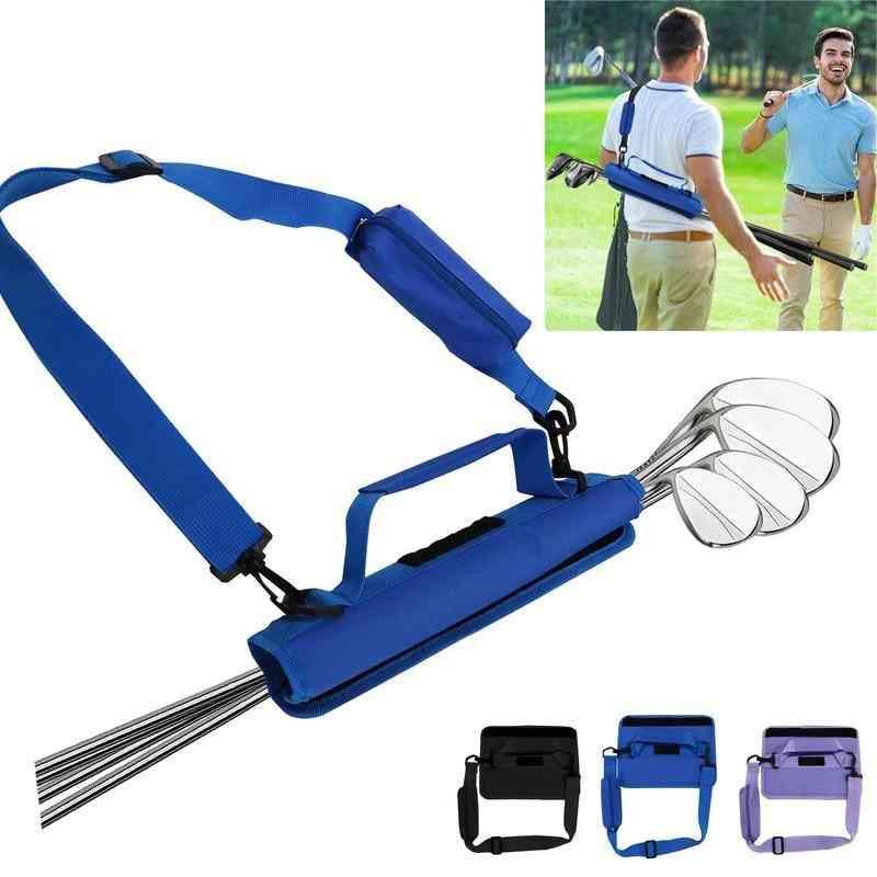 New Mini Lightweight Golf Club Bag Carrier Durable Driving Range Course Training Case For Men Women Kids