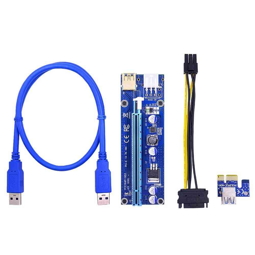 Ver009s Pci-e Riser Card 009s Pcie Pci Express 1x To 16x Adapter