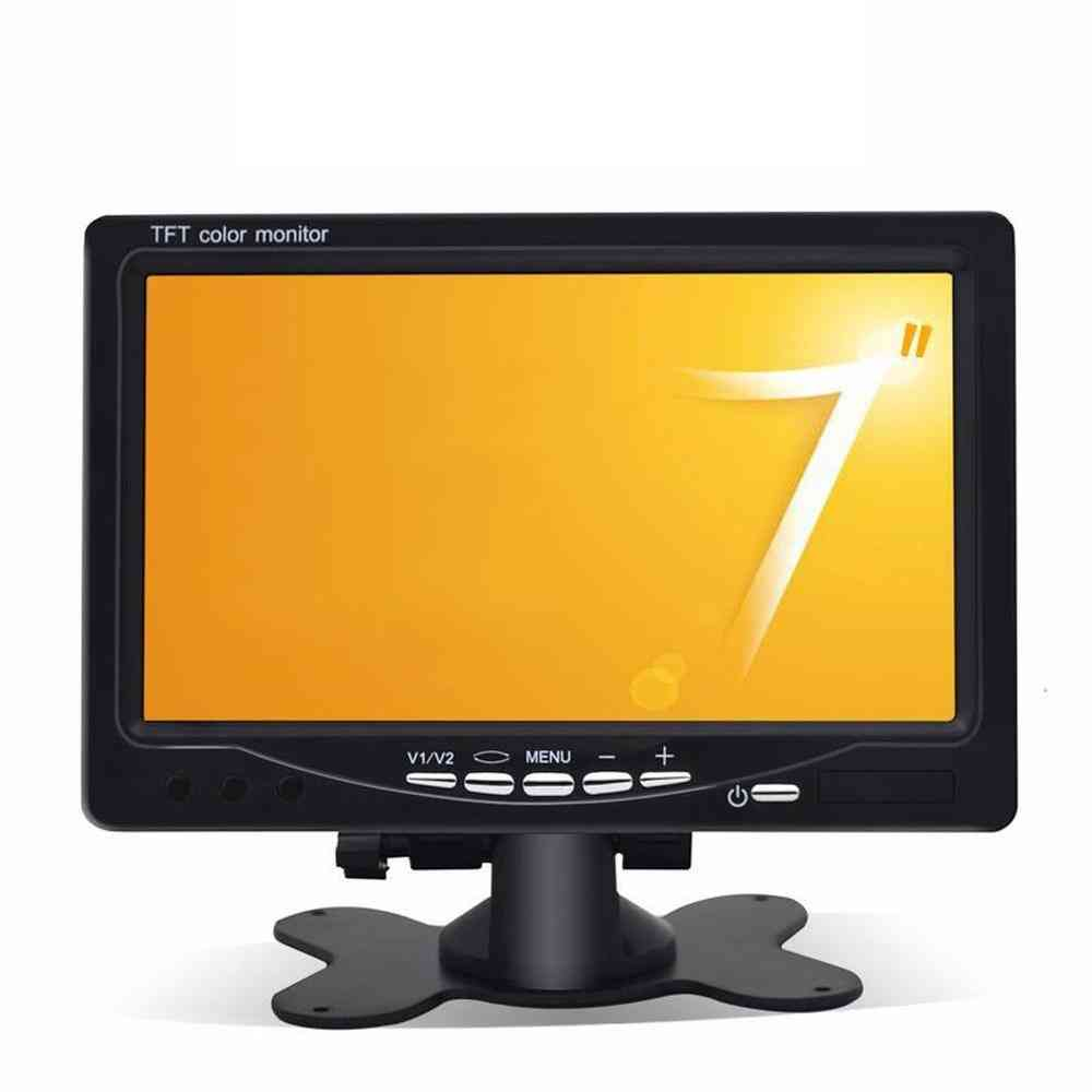 Headrest Display Monitor Rear View Display