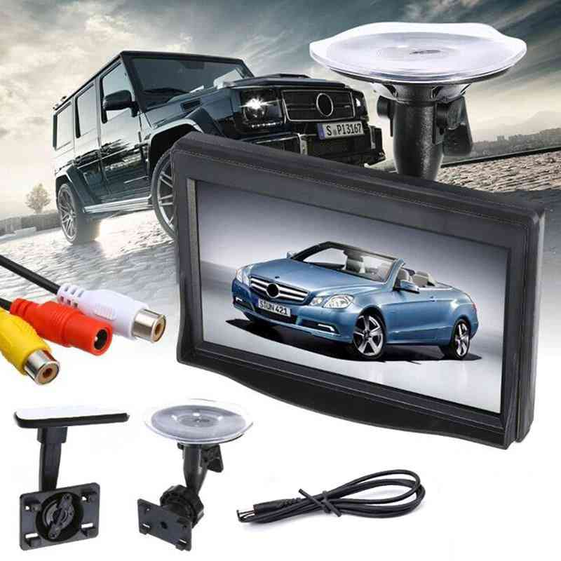 Hd Screen Monitor For Car Rearview Reverse Backup