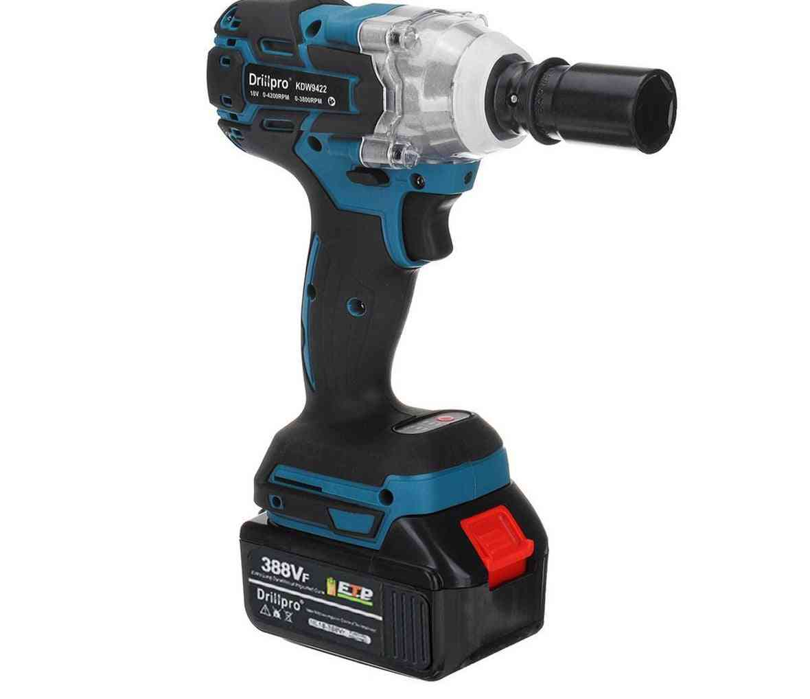 Brushless Cordless Electric Impact Wrench