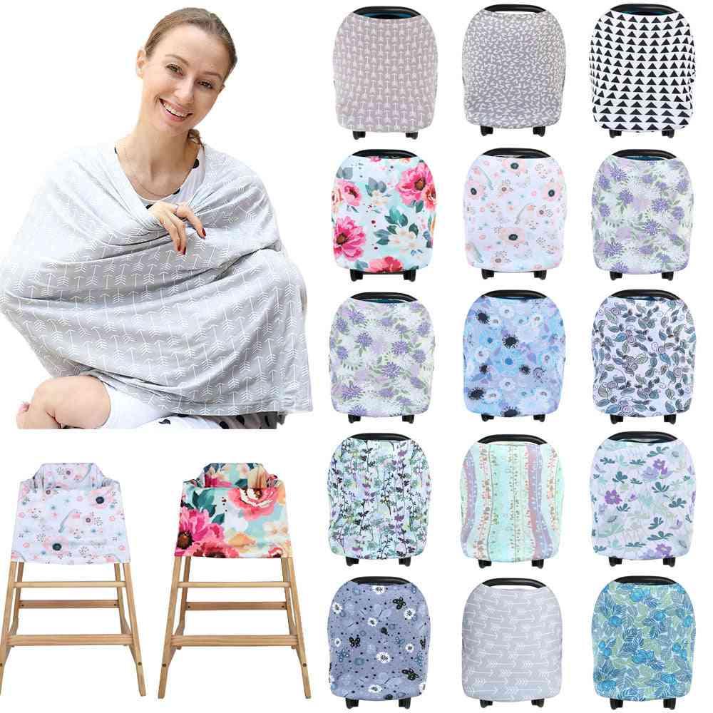 Nursing Cover Scarf Canopy Breastfeeding Cover