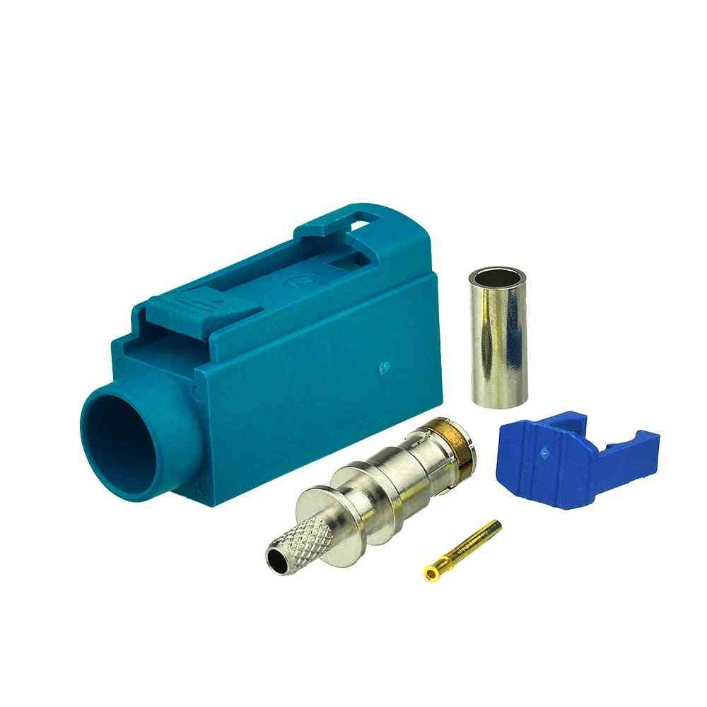 Jack Connector Neutral Coding Crimp For Cable