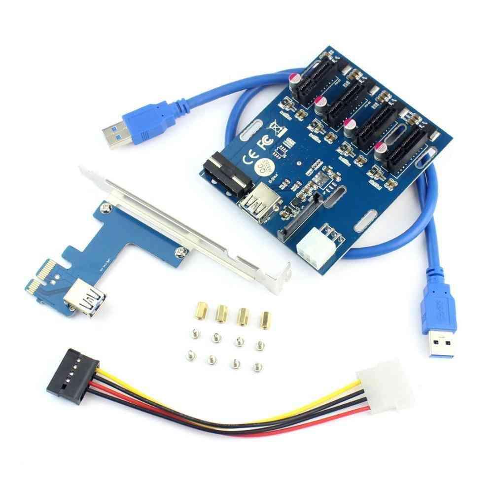 External Adapter Port Multiplier Card For Miner Btc