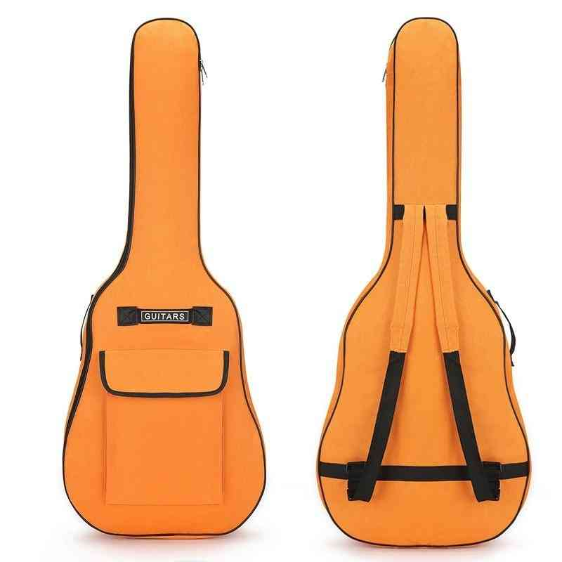 Guitar Case Double Straps 5mm Padded Cotton Backpacks