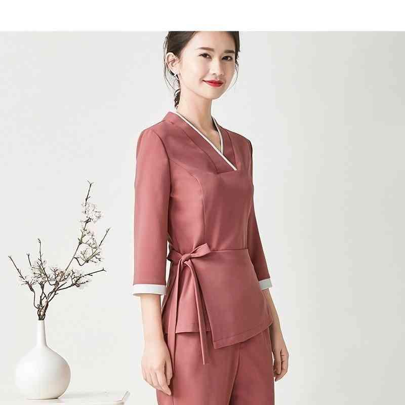 Beautician Work Clothes Uniform, Spa Uniform