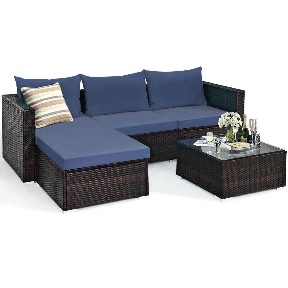 Furniture Set Sectional Conversation Sofa