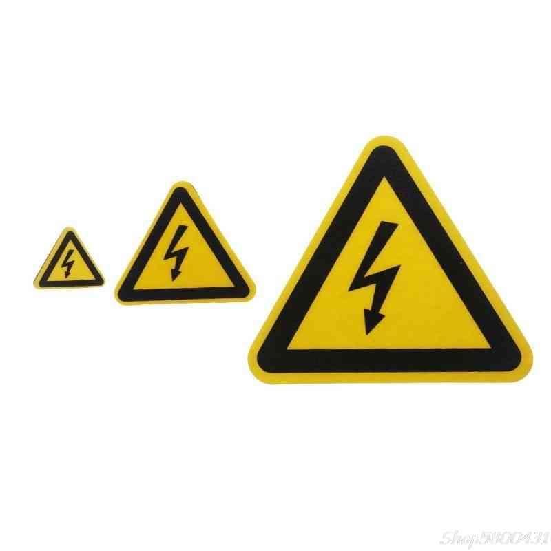 Warning Sticker Adhesive