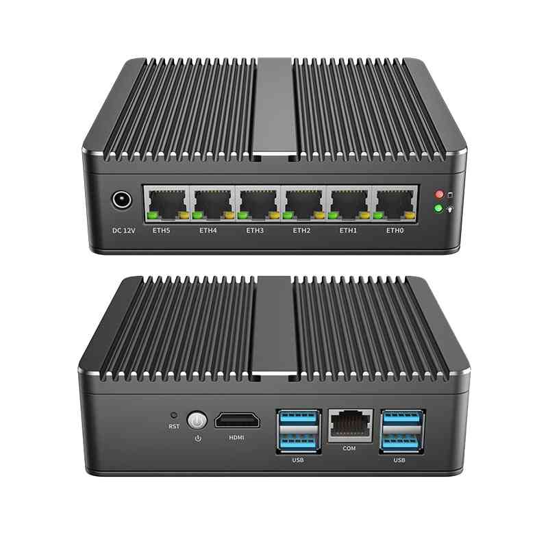Industrial Pc Gateway Firewall Router For Pfsense