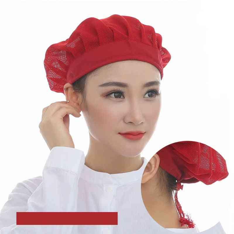 Men And Women Workshop Canteen Hat Chef Hat