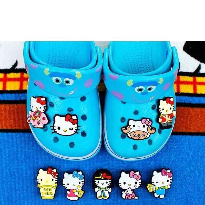 Animal Hello Kitty Cute Anime Croc Charms