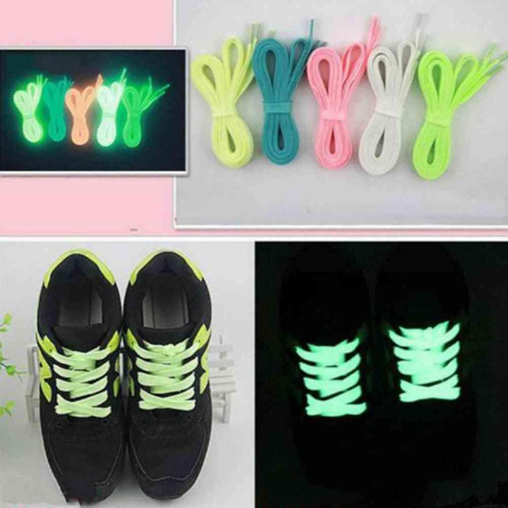 Fashion Luminous Glowing Led Fluorescent Shoelace