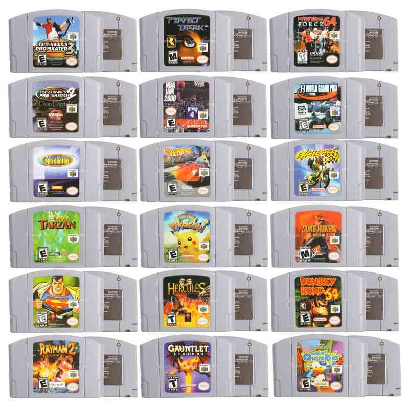 Video Game Cartridge Games Console Card
