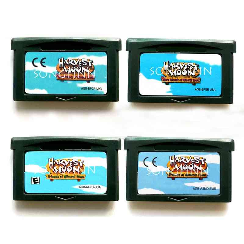 Harvest Moon More Friends Of Mineral Town Game Card
