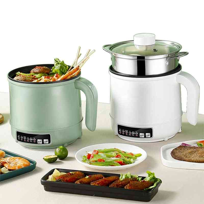 Multicooker Electric Skillet Stainless Steel Rice Cooker Hotpot