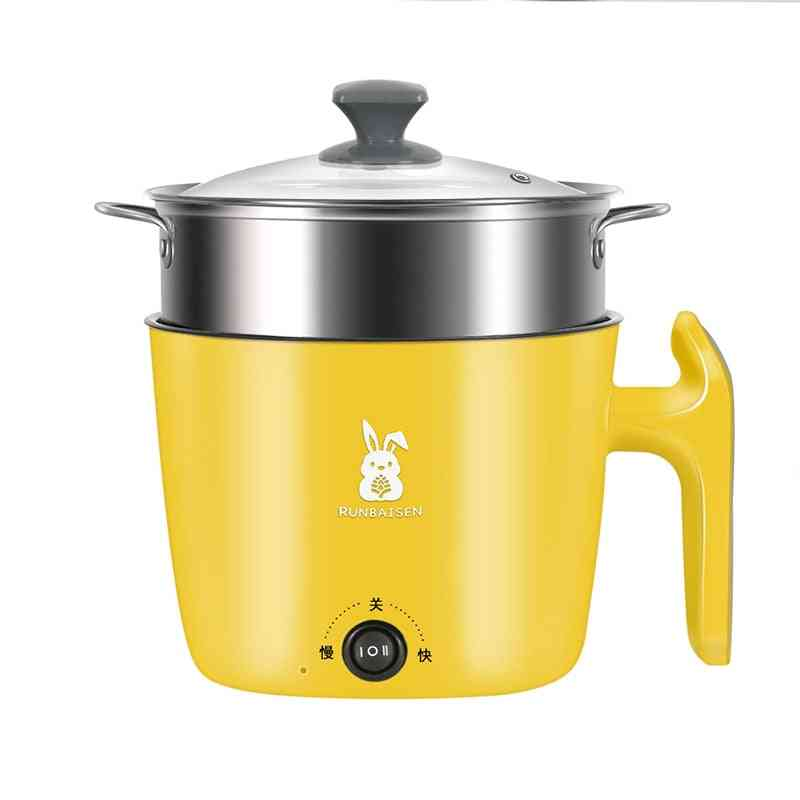 Electric Rice Cooker Hot Pot  Electric Cooking Machine Non-stick Pan
