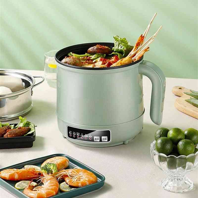 Electric Steel Rice Cooker Hotpot Noodles Soup Pot