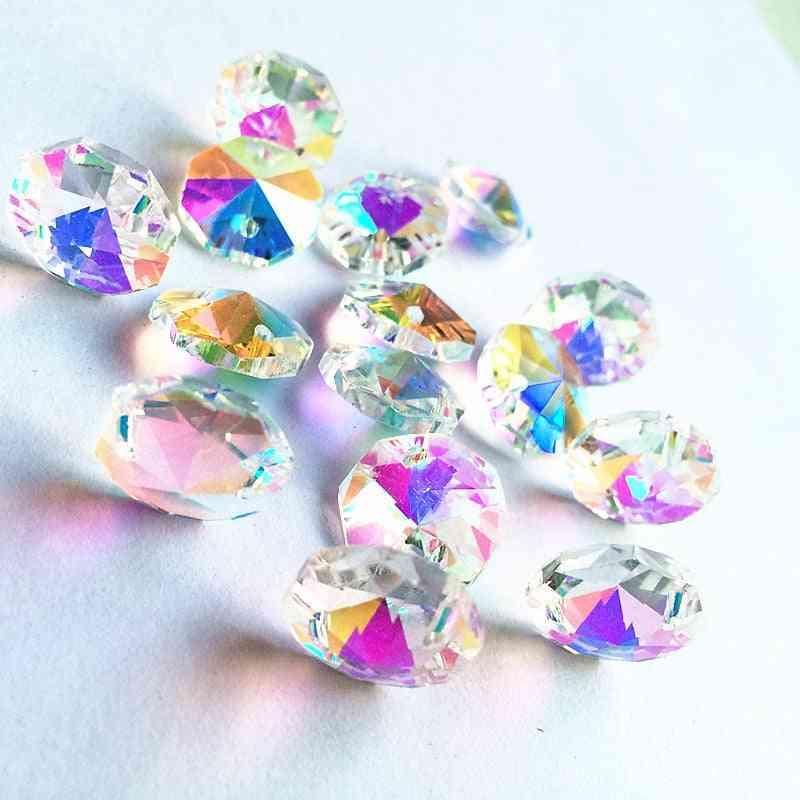Crystal Lighting Octagon Beads