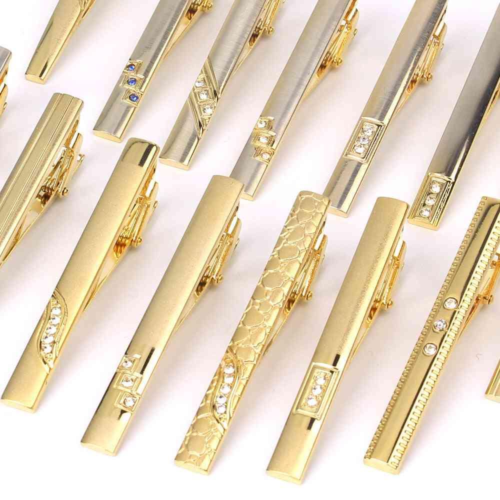 Metal Gold Tie Clip