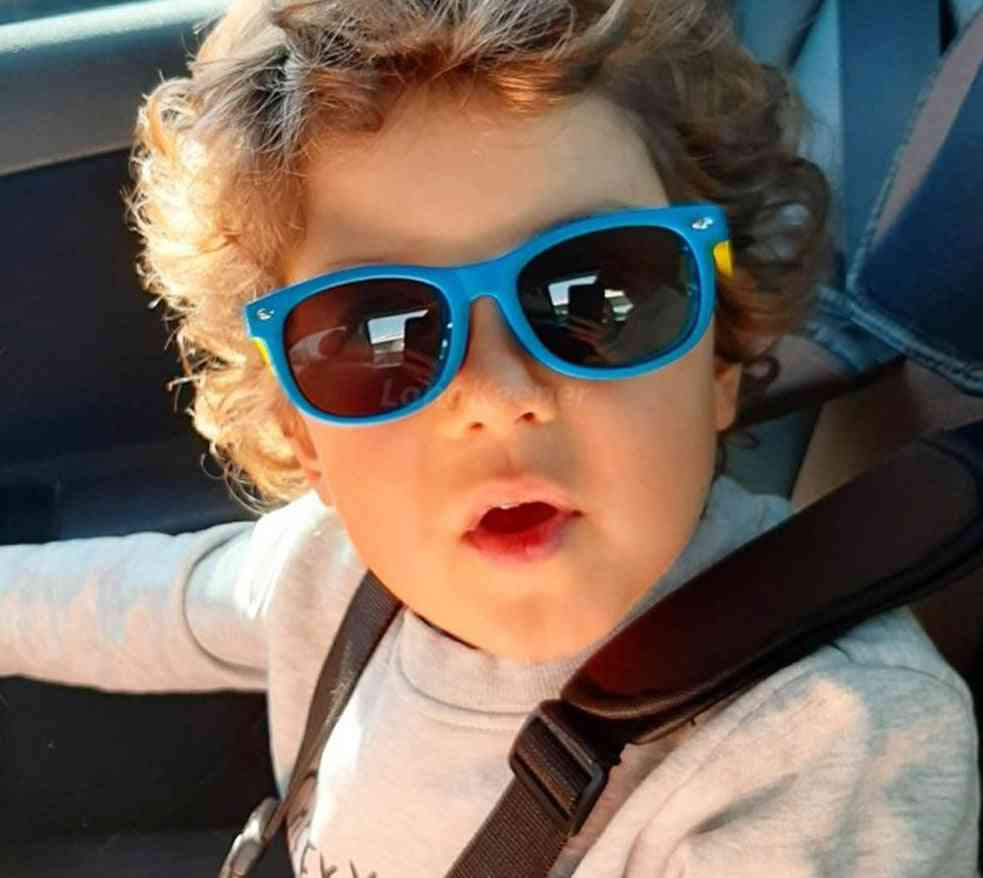 Boys Sun Glasses Silicone Safety Glasses