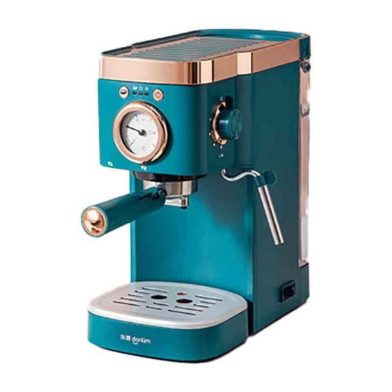 Coffee Machine Semi Automatic Cafe Powder Cappuccino Electric Maker