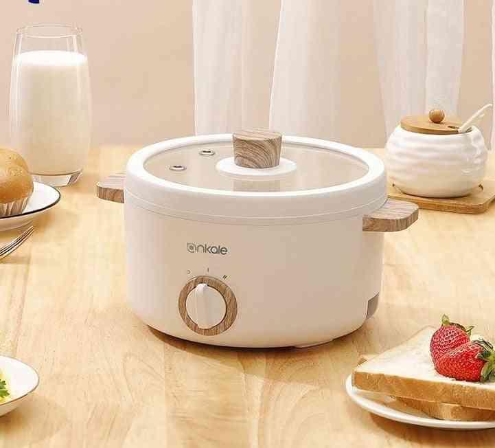 Electric Cooking Pot  Pan Electric Dormitory Pan