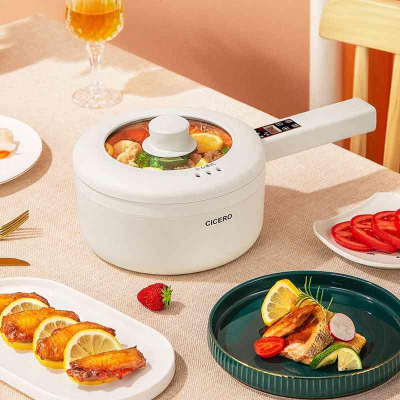Electric Cooking Portable Hot Pot Cooker Ceramic Smart