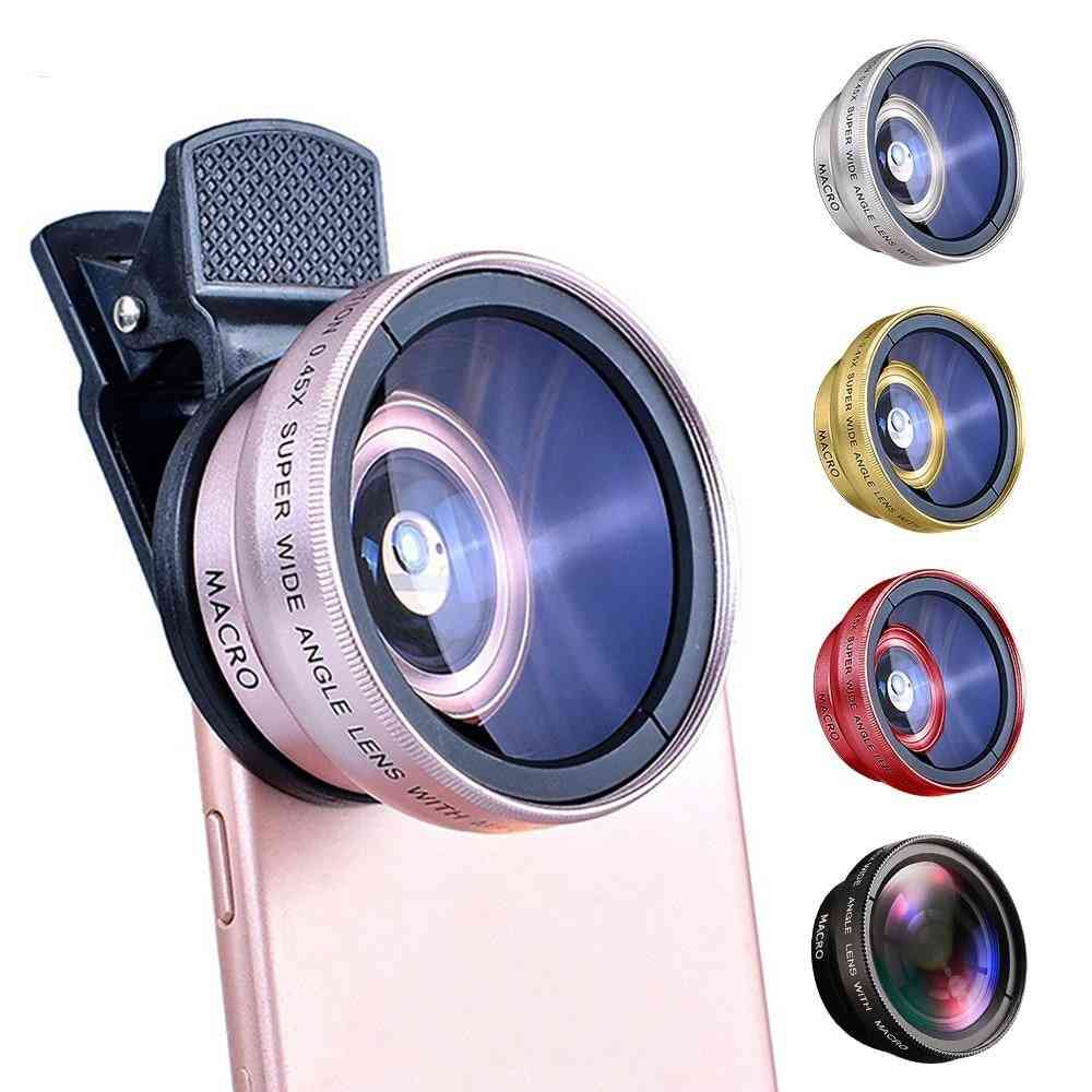 2 In 1 Universal Clip Mobile Phone Lens